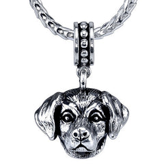 Retriever - Lab (w/o fur) Pendant Necklace