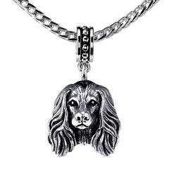 Saluki Pendant Necklace