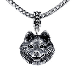 Samoyed Pendant Necklace