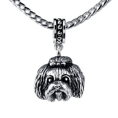 Shih Tzu Pendant Necklace
