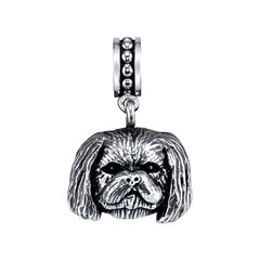 Shih-Tzu - Trimmed male Pendant Necklace
