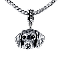 Shorthaired Pointer Pendant Necklace