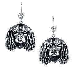Spaniel - King Charles Earrings