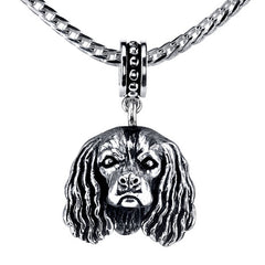 Spaniel - King Charles Pendant Necklace