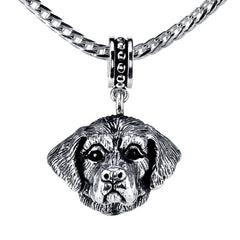 St. Bernard Pendant Necklace