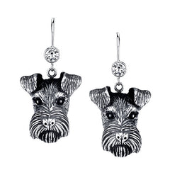 Terrier - Airedale Terrier Earrings