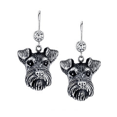 Terrier - Wire Fox Terrier Earrings
