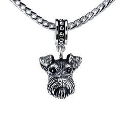 Terrier - Wire Fox Terrier Pendant Necklace