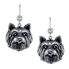Terrier - Yorkie (w/o bow) Earrings
