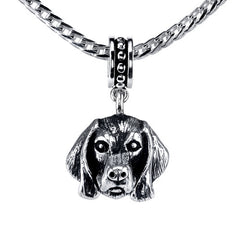 Weimaraner Pendant Necklace