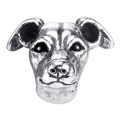 Whippet Charm Bead