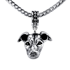 Whippet Pendant Necklace