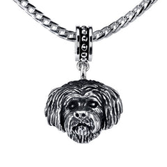 Yorkipoo Pendant Necklace