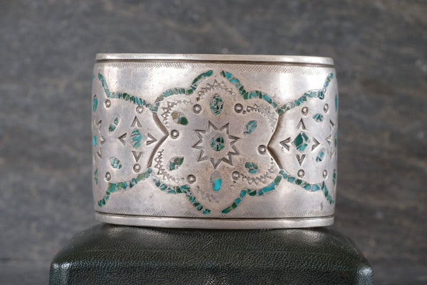 Wide Inlay Cuff