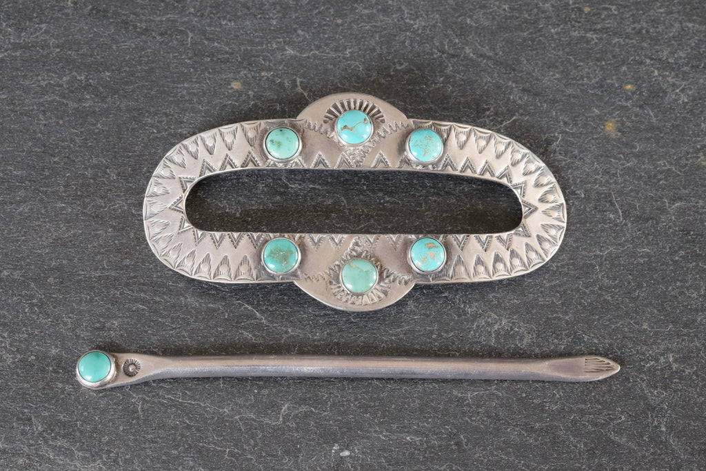 Navajo Hair Pin