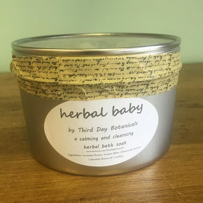 Third Day Botanicals herbal baby soak