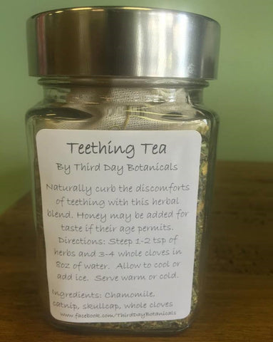 Third Day Botanicals Teething Tea