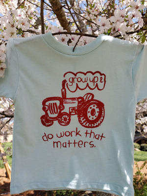 Farmer Toddler Tee - Do Work That Matters