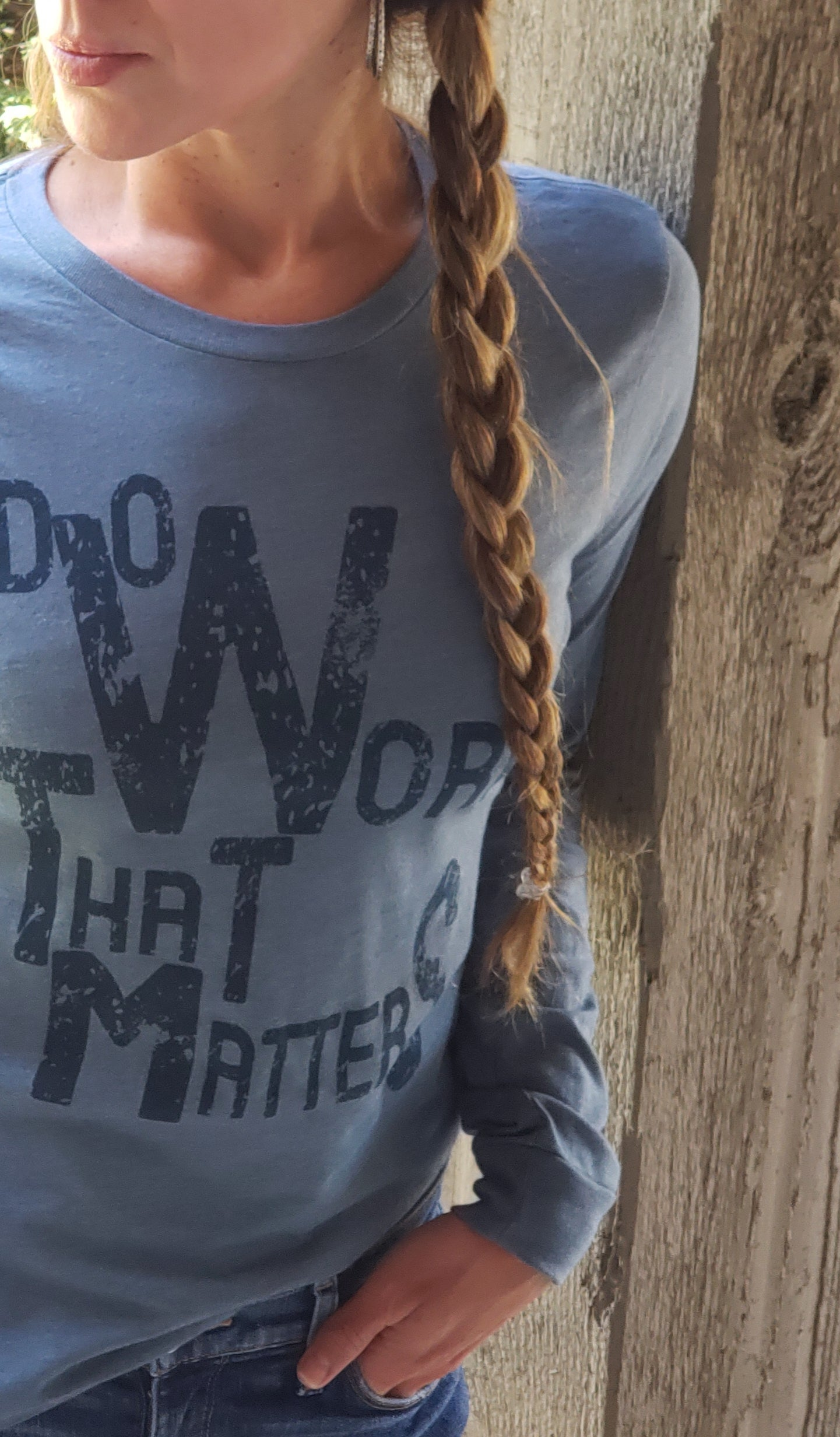 Do Work That Matters Long Sleeve Tee