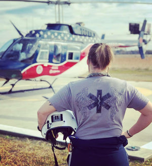 Flight Medic Tee - Do Work That Matters