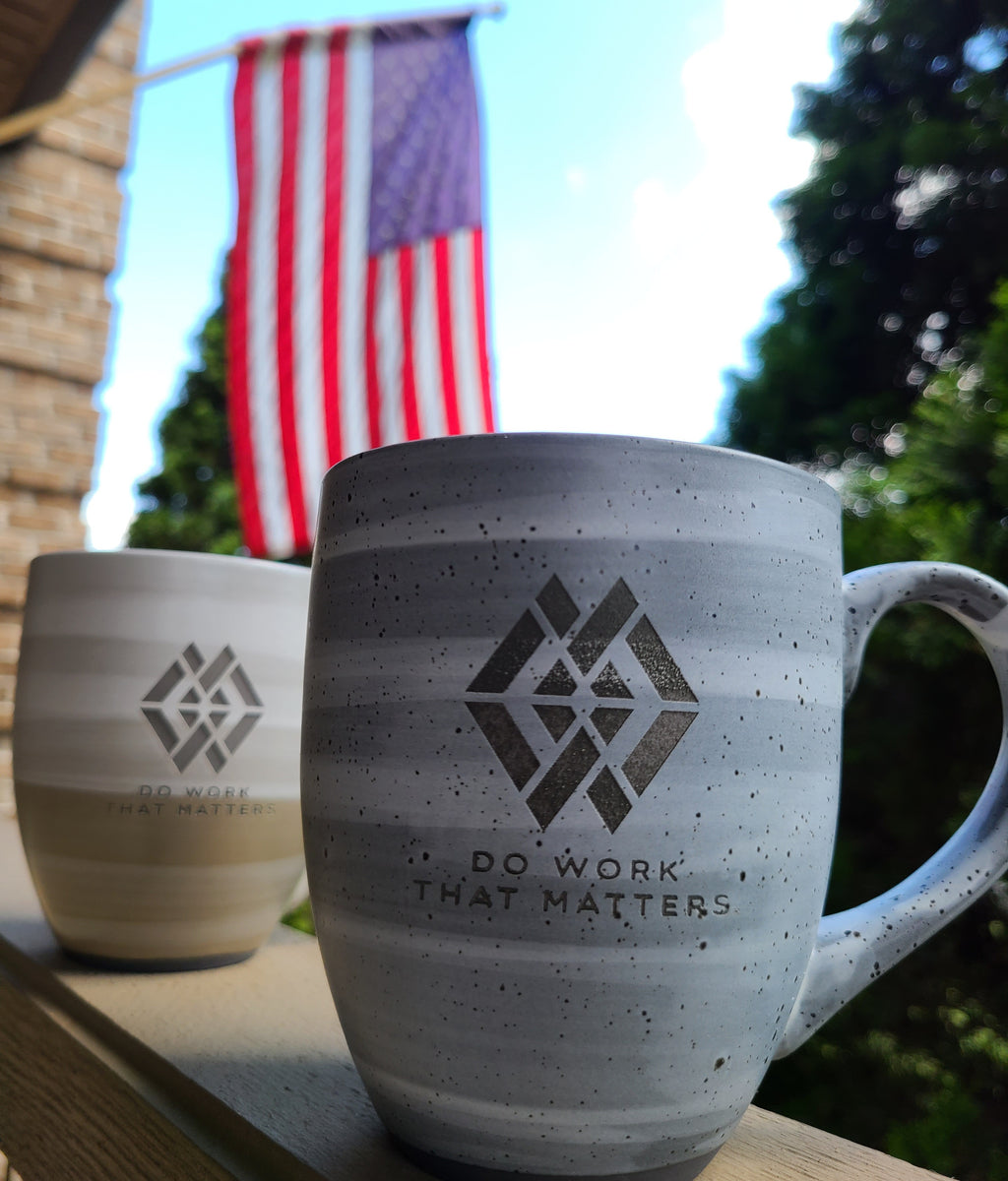 DWTM Ceramic Mug - Do Work That Matters
