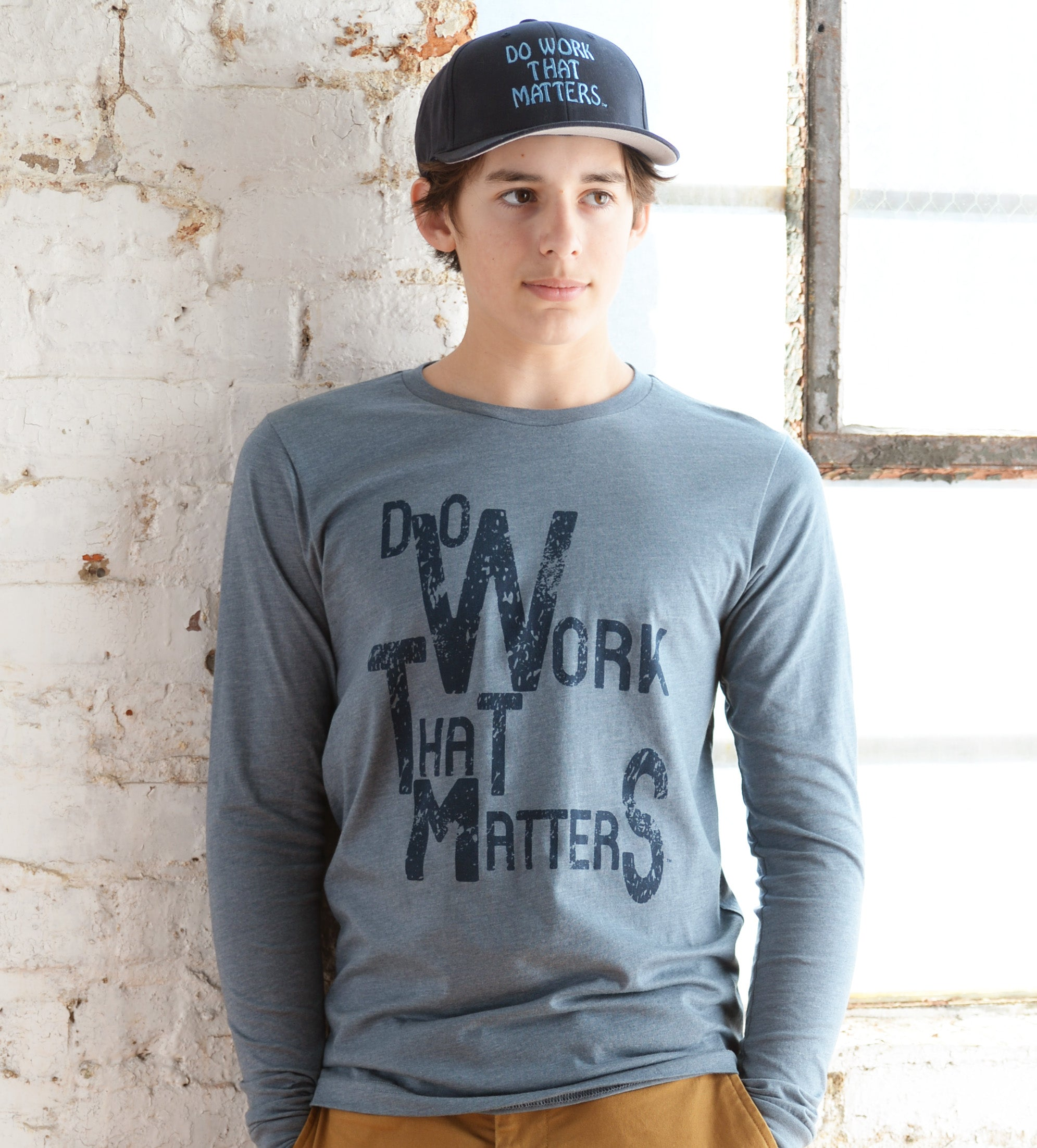 Do Work That Matters Long Sleeve Tee - Do Work That Matters