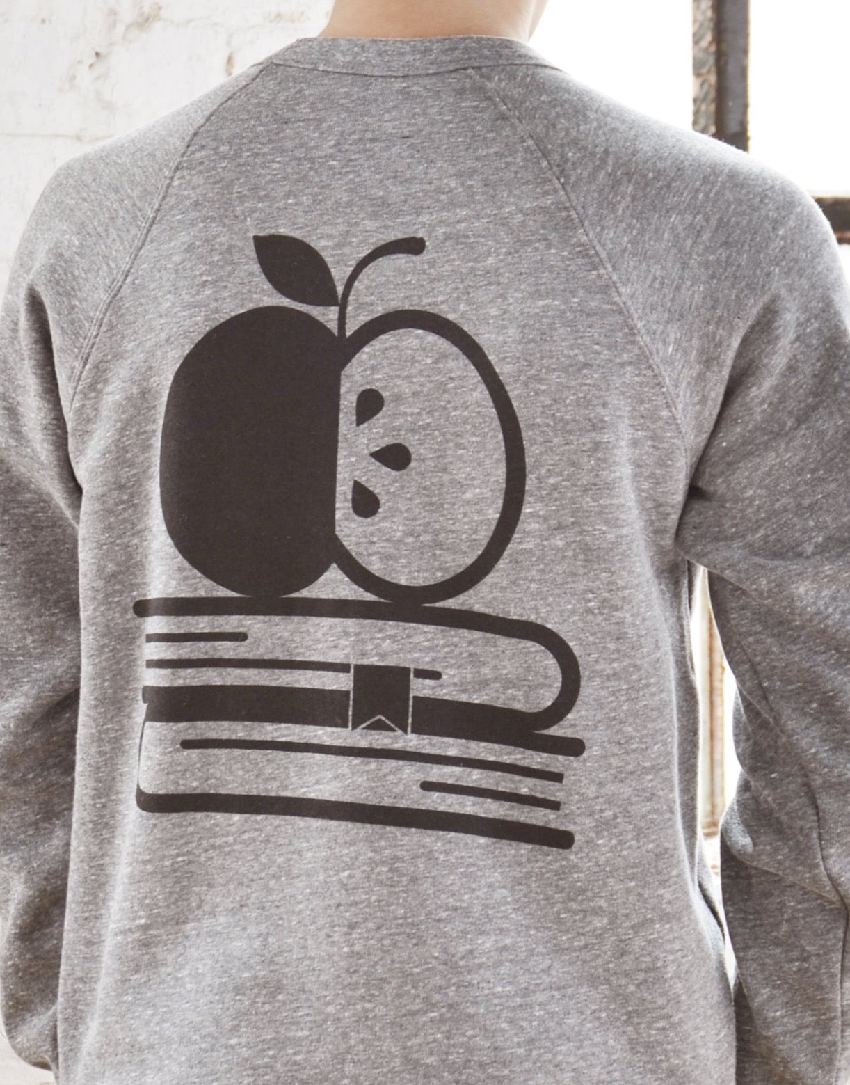 Teacher Sponge Fleece Sweatshirt - Do Work That Matters