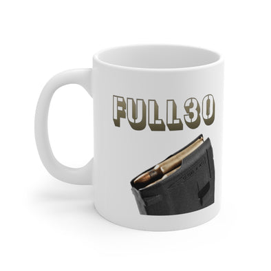 FULL30 Coffee Humor 11oz Mug
