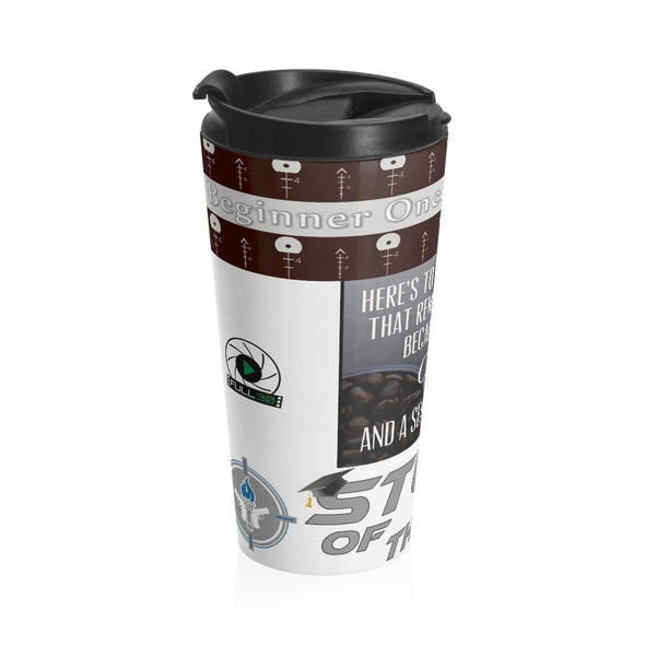 STUDENT OF THE GUN Coffee Humor Stainless Steel Travel Mug