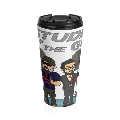 STUDENT OF THE GUN Stainless Steel Travel Mug