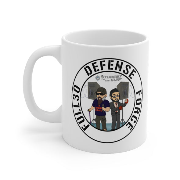 Student Of The Gun Defense Force 11oz Mug
