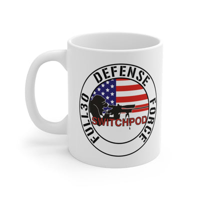 Switchpod Defense Force 11oz Mug