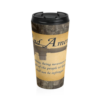 2A - Stainless Steel Travel Mug