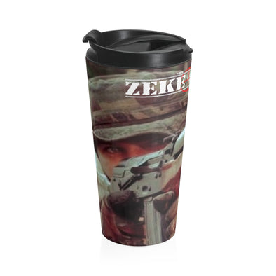 ZEKE SHOOTS Stainless Steel Travel Mug