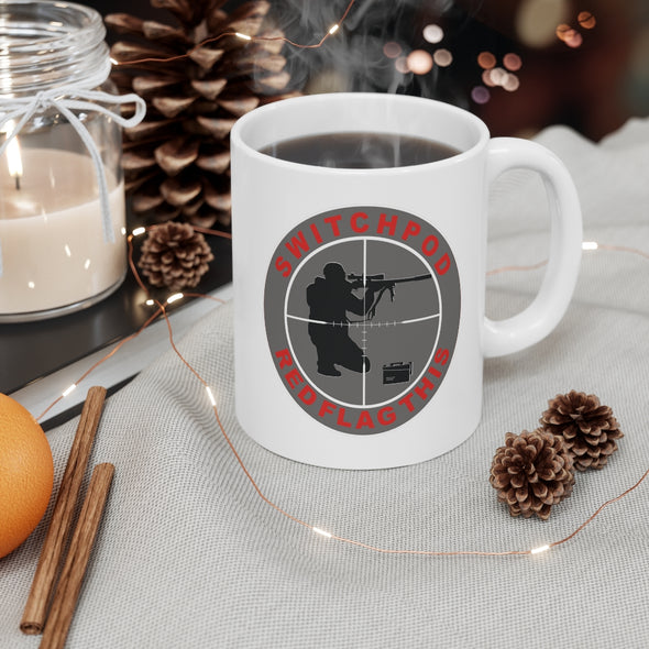 SWITCHPOD RED FLAG THIS Mug 11oz