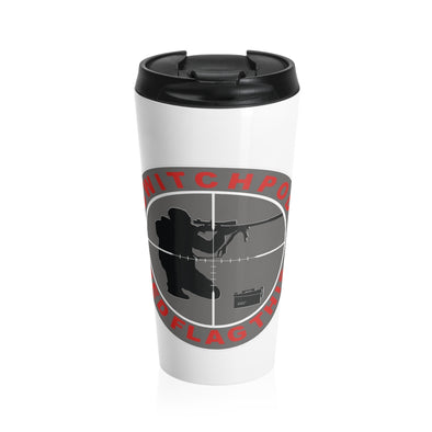 SWITCHPOD RED FLAG THIS Stainless Steel Travel Mug
