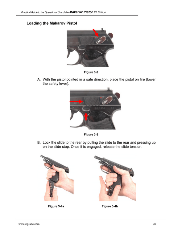 Practical Guide to the Operational Use of the Beretta