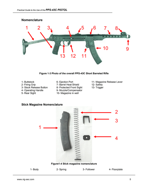 Practical Guide to the Operational Use of the PPS-43C