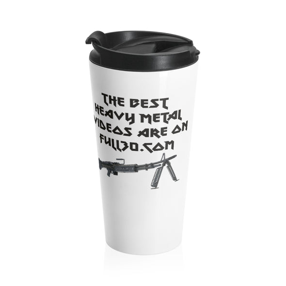 The Best Heavy Metal Videos - Stainless Steel Travel Mug