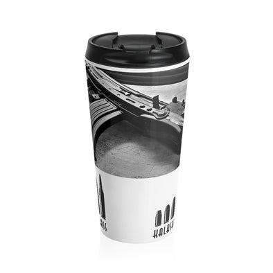 KALASH & BRASS Stainless Steel Travel Mug