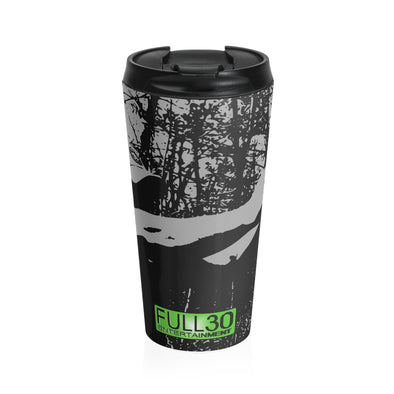 THE HUNGRY HANDGUNNER - Stainless Steel Travel Mug