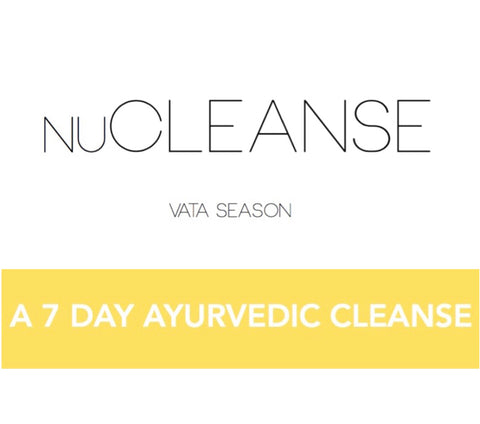 FALL - NuCleanse 7 Day Ayurveda Cleanse Program - Vata Season
