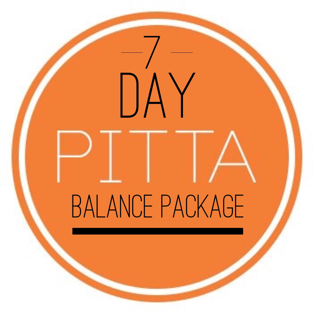 PITTA 7 Day Balance Package