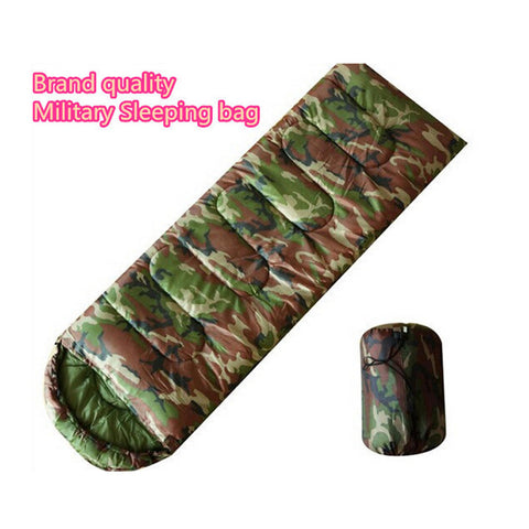 Quality Breathable Military Envelope Adult Sleeping Bag for Spring Summer Autumn