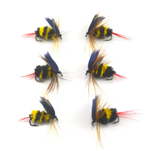 Promo - 6PCS/Lot Bumblebee Lure Bait For Trout/Bass Fishing