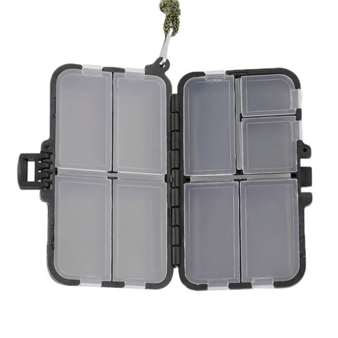 Weird Deck - Fishing Bag - 9 Compartment Double Sided Waterproof Eco-Friendly Fishing Tool Lure Bait Tackle Storage Box