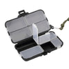 Promo - 9 Compartment Double Sided Waterproof Eco-Friendly Fishing Tool Lure Bait Tackle Storage Box