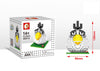 Birds and Pig King Mini Figures Educational Minecraft Building Blocks