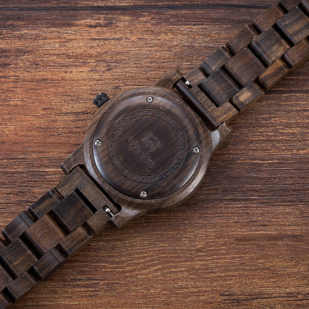 Luxury Sport Wood Watch - The Original Ecological Nature Wooden Sport Wristwatch