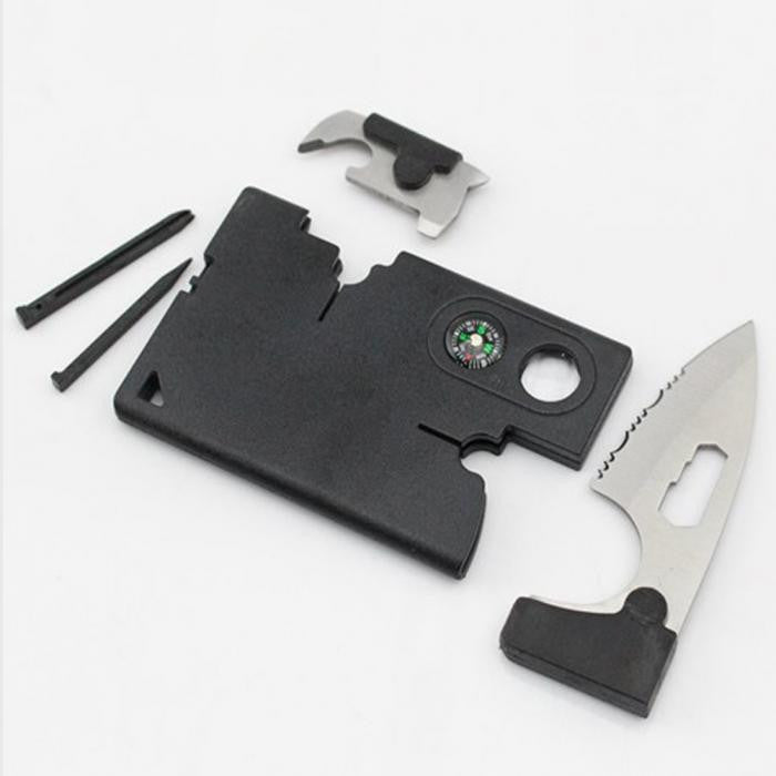 Hight Quality 9 in 1 Outdoor Pocket Card Slice EDC Tools